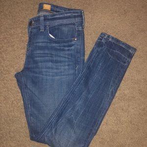 Anthropologie Pilcro Hypem Skinny Acid Wash Jeans